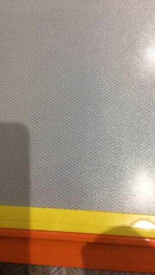 琪趣儿童磁性画板6688A粉色 宝宝涂鸦板彩色写字板大号带笔印章画板幼儿小黑板 1-2-3-6岁画画玩具手绘画工具 晒单图
