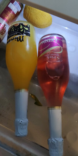 西班牙原瓶进口红酒双支礼盒装 爱之湾薰衣草蓝布鲁斯科桃红甜起泡气泡葡萄酒750ml*2瓶 晒单图