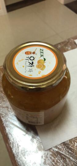 韩国进口 ZEK 蜂蜜柚子茶 原装进口水果茶果酱冲饮饮品 1000g 晒单图