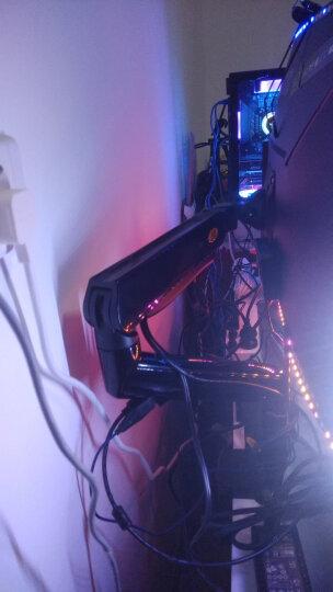 NB 显示器支架 桌面电脑显示器旋转升降显示器支架臂 显示器桌面增高升降支架 22-32英寸 F90A 晒单图