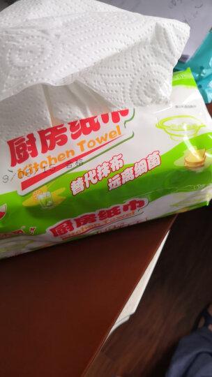 顺清柔 厨房用纸巾 抽取式加厚200张*3包(大规格) 晒单图
