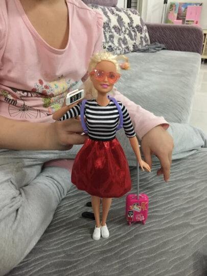 芭比(Barbie)女孩娃娃玩具 小小旅行家 FFB18 晒单图