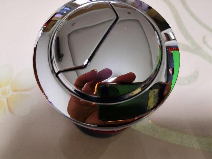好来屋(Holow) 好来屋坐便器马桶水箱双按钮单按钮圆形老式抽水开关按键冲水配件 58安装直径双按钮 晒单图