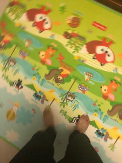 费雪FisherPrice婴儿韩国进口加厚单面宝宝爬行垫 游戏垫BMF14 (130*200*1cm) 晒单图