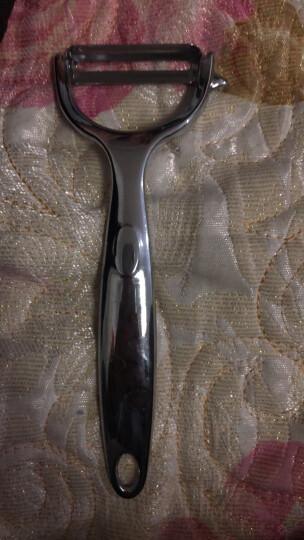 佳佰 多功能水果削皮器瓜果刮皮刀 土豆削皮器刨丝器去皮厨房小工具cf1602 晒单图