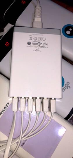 Anker安克 60W6口USB苹果手机充电器/多口充电器/充电头/USB电源适配器 6口12A快充 支持苹果安卓手机平板 白 晒单图