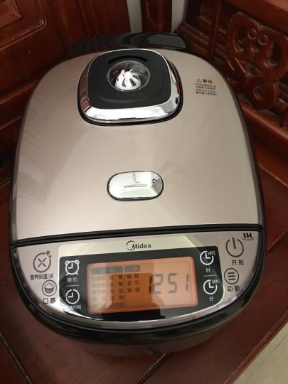 美的(Midea)电饭煲电饭锅IH电磁加热5L大容量智能预约钛金釜家用电饭煲MB-WFZ5099IH 晒单图