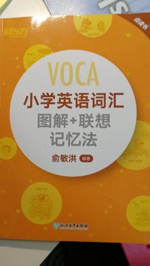 新东方 小学英语国际音标卡(点读版) 晒单图