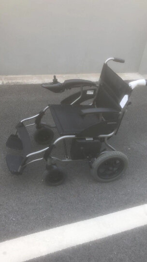 鱼跃(YUWELL)轮椅 全钢管加固 软座带座便 H058B 可折叠坐便轮椅车 晒单图