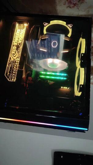 爱国者(aigo) R3PRO散热器套装 12CM机箱 RGB风扇(三只风扇/多种灯光模式/液压轴承/静音脚垫/支持水冷) 晒单图