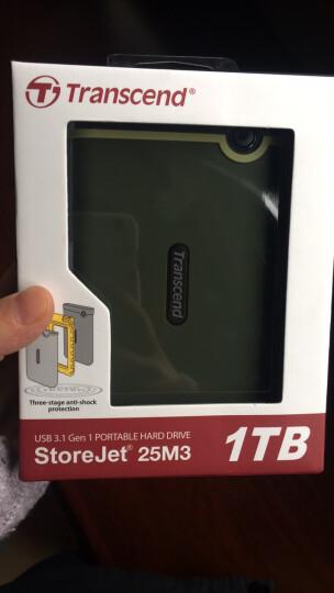 创见(Transcend)4TB USB3.1 Gen1移动硬盘StoreJet 25H3系列2.5英寸紫色抗震防护 晒单图