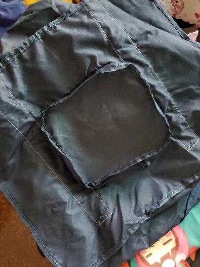 班哲尼 便携可折叠拉杆箱收纳包 旅行出差单肩手提整理袋方便搬家袋 深蓝 BZN100064 晒单图