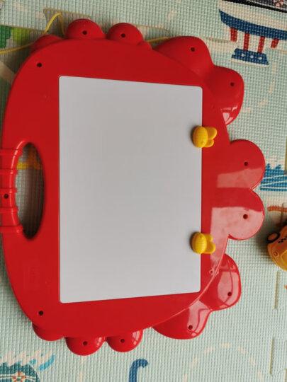 澳贝(AUBY)婴儿童玩具男孩女孩宝宝大号磁性美术双面彩色画板写字板小蟹艺术涂鸦板新年礼物464405DS 晒单图