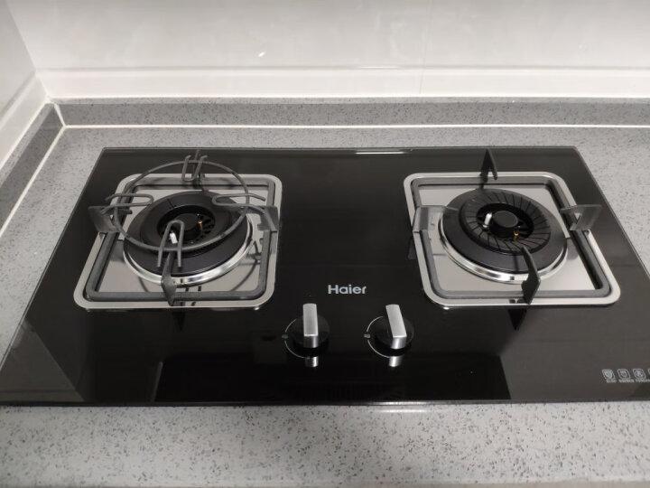 海尔(Haier)抽油烟机燃气灶具套装 欧式 一级能效 吸油烟机 E900T2S+QE5B1(天然气) 晒单图