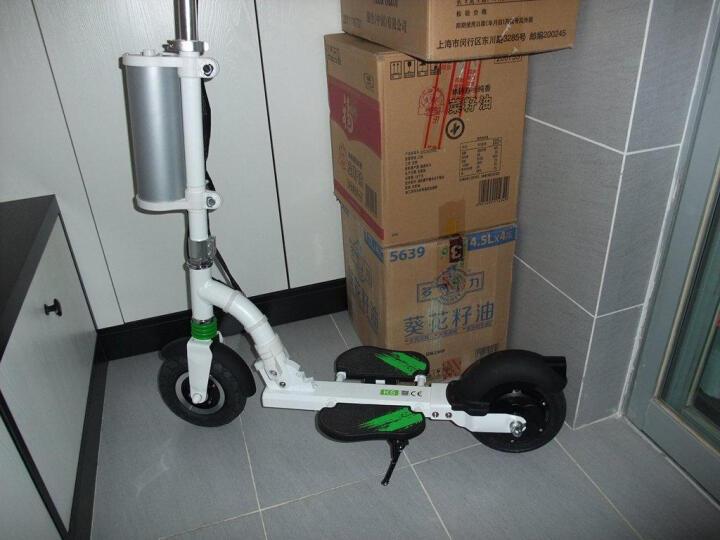 Airwheel 爱尔威电动滑板车 智能电动自行车折叠电动车 升级 Z5黑色单刹版 晒单图