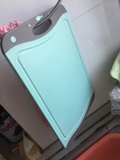 爱思得(Arsto)稻壳菜板防滑砧板小麦纤维切菜板婴儿宝宝辅食案板绿色中号(35*24*0.8cm) 晒单图