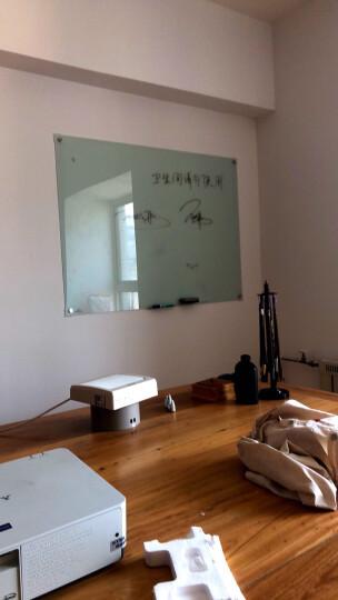 齐心(Comix)90*120cm 挂墙式磁性钢化玻璃白板 写字板 会议白板 记事涂鸦板 BB7636 晒单图
