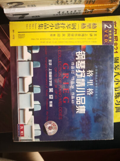 格里格钢琴抒情小品集辅导示范(2VCD) 晒单图