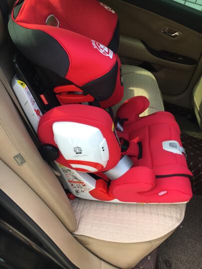 SAVILE 猫头鹰汽车儿童安全座椅9个月-12岁isofix/latch接口可调节加厚侧防超级哈利 记忆球 晒单图