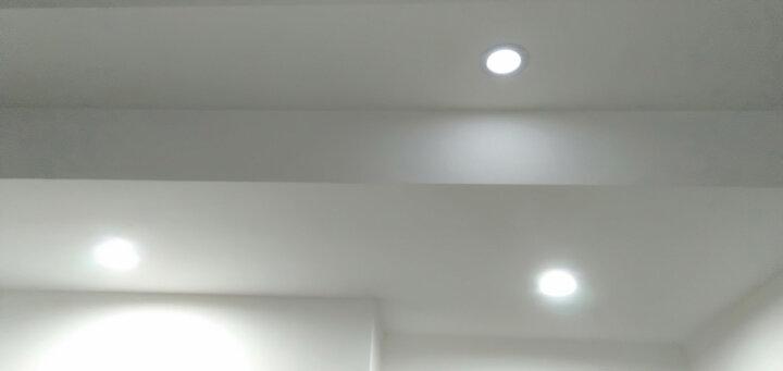 FSL 佛山照明LED筒灯吊顶客厅灯杯射灯灯具铝材过道嵌入式天花灯猫眼牛眼灯洞灯走廊桶灯家用玄关孔灯 钻石高光3W2.5寸 白光【加厚铝材】 晒单图