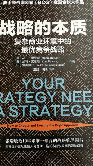 战略的本质:复杂商业环境中的最优竞争战略 晒单图