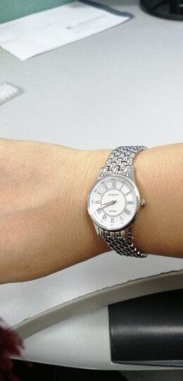 罗西尼(ROSSINI) 手表 启迪系列简约百搭石英女表罗马时符白盘钢带6356W01G 晒单图