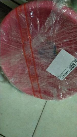茶花 CHAHUA塑料洗脸盆子洗衣盆39CM时尚通用盆 03391K 晒单图