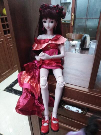 叶罗丽娃娃女孩儿童玩具夜萝莉仙子DIY仿真洋娃娃精灵梦卡通套装礼盒改装换装玩具 齐娜60CM 晒单图
