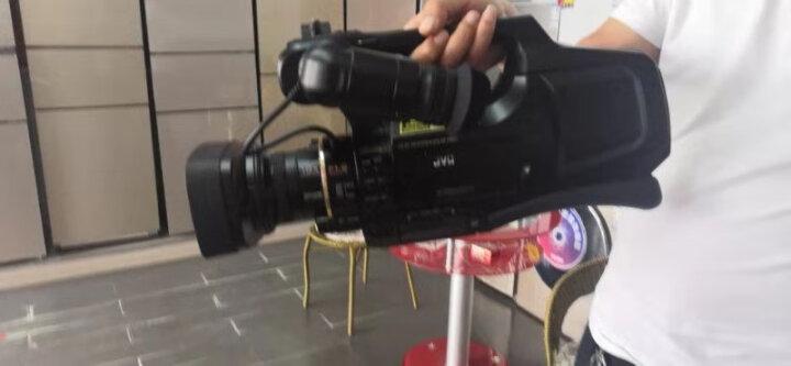 杰伟世(JVC )JY-HM95 AC 专业肩扛式高清数码摄像机/摄影机  婚庆/会议/教学 (双卡双电) 晒单图