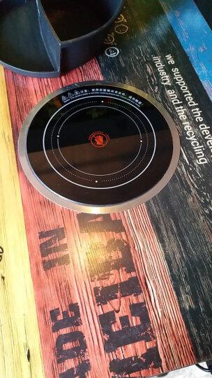 威士浦(VOSPU)商用电陶炉火锅电磁炉嵌入式圆形线控大功率不挑锅火锅炉火锅店用电磁炉 2500W 直径288mm DT288-1 晒单图
