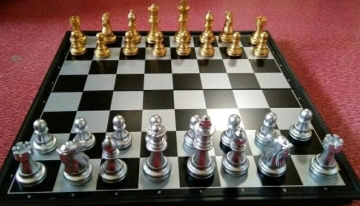 友邦UB国际象棋折叠式便携磁石象棋棋盘玩具4812A 晒单图