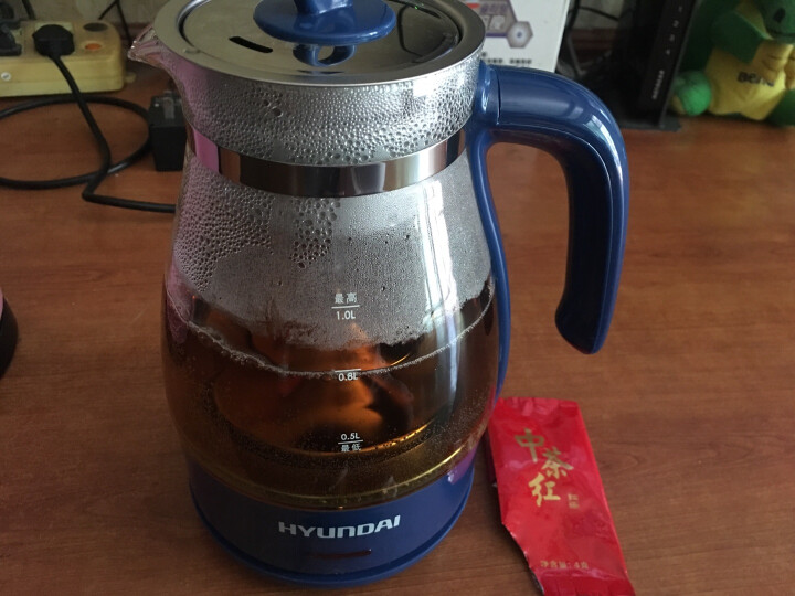 九阳(Joyoung)热水壶烧水壶电水壶 1.7L大容量304不锈钢优质温控 家用电热水壶JYK-17S08 晒单图