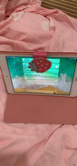 优加 正版Hello Kitty系列 苹果iPad mini4保护套/壳 迷你4卡通保护休眠皮套 甜甜圈 晒单图