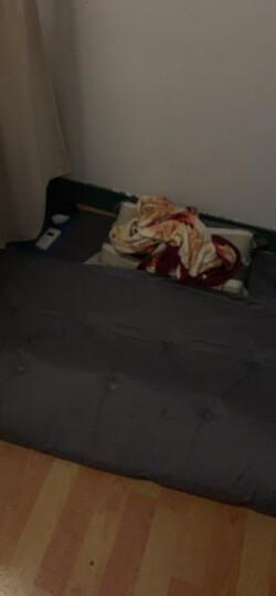 捷昇(JIESHENG) 户外双人自动充气垫 自带充气枕头防潮垫子加宽加厚气垫床 充气床垫 蓝色升级款 晒单图