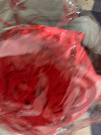 七夕倾鑫 结婚庆用品婚房装饰创意新房婚礼布置道具无纺布喜字拉花门帘对联喜联中式婚礼无纺布喜字吊饰 镂空心形拉花背景墙套餐 晒单图