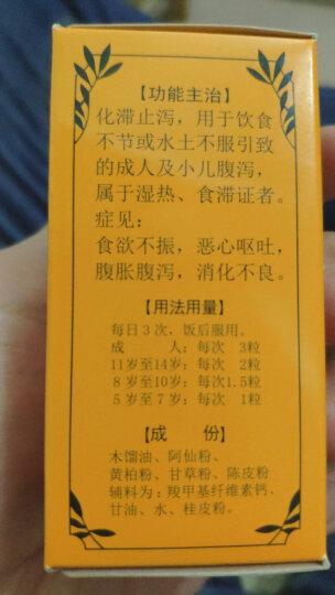喇叭牌 正露丸100丸 腹胀 腹泻 消化不良 止泻药 日本进口 晒单图