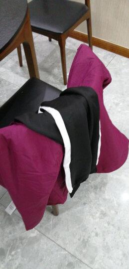 富贵鸟情侣款冲锋衣男女保暖防水防寒带帽可拆卸加厚两件套冲锋衣 058男中国红 M 晒单图