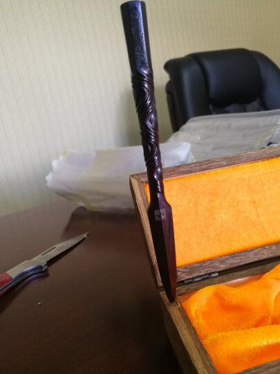 御茗天下(yumingtianxia) 普洱茶刀貔貅茶针大马士革铜茶道配件六君子手工锻造 金鼠钱茶刀(手工锻打打扭曲手柄) 晒单图