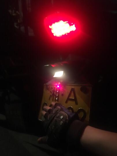 极路蒂思汽车改装灯踏板摩托车改装配件鬼火摩托车彩灯激光射灯防追尾警示雾灯后尾灯led装饰灯 直线/激光射一只 晒单图