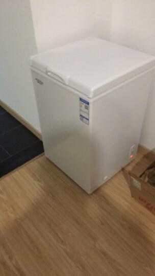澳柯玛(AUCMA)100升冷藏冷冻转换 迷你变温家用冷柜 小冰柜 BC/BD-100H(NE) 晒单图