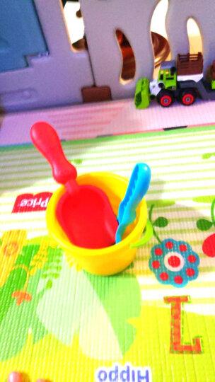 费雪fisher-price 沙滩玩具 玩沙玩水玩具早教模型6件套 宝宝洗澡挖沙子铲子水桶水车 322 晒单图