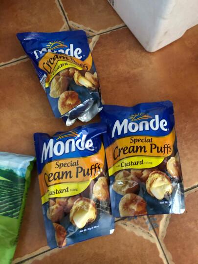 菲律宾进口 道吉草奶油夹心泡芙 25g*3袋 休闲零食 网红甜点小吃 晒单图