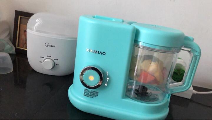 新妙(Xinmiao)婴儿辅食机  宝宝营养食物调理器 电动蒸搅辅食料理机 晒单图