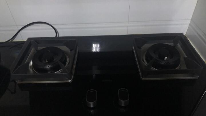 老板(Robam)燃气灶 4.2kW嵌入式煤气灶具 家用双灶具嵌可用 JZT-56B0(天然气) 晒单图