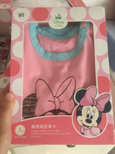 迪士尼宝宝内衣套装儿童秋衣秋裤印花莱卡DA532AR01P2490粉红 晒单图