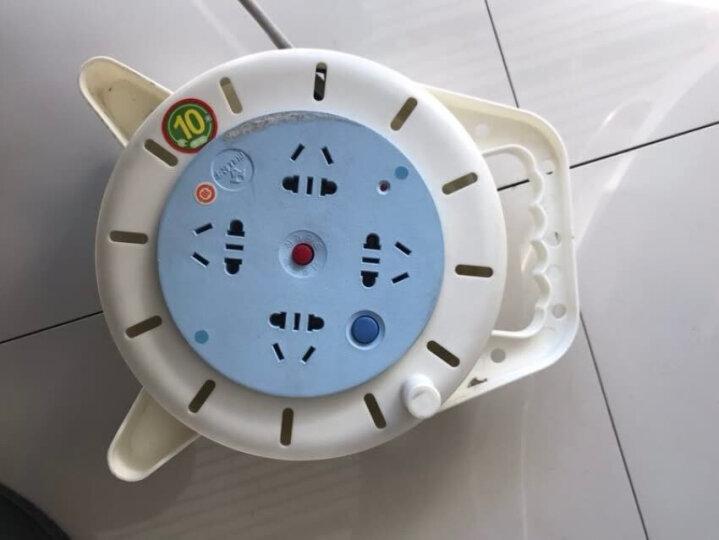 公牛(BULL)GN-802 4位10米  电缆卷盘插座/插排工程专用卷线盘 晒单图