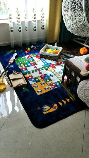 床美人家纺 地垫宝宝爬行垫卧室客厅加厚毯子卡通游戏地垫飞行棋地垫儿童益智玩具生日礼物 彩色星空 200.240CM 晒单图