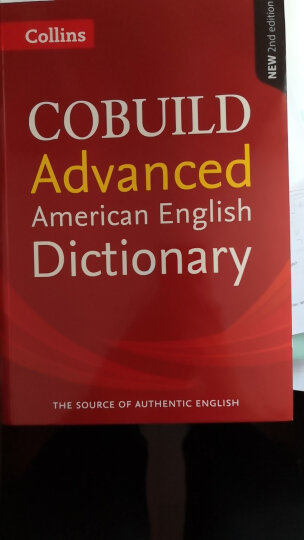 英文原版柯林斯高阶美式英英词典Collins American English Dictionary 晒单图