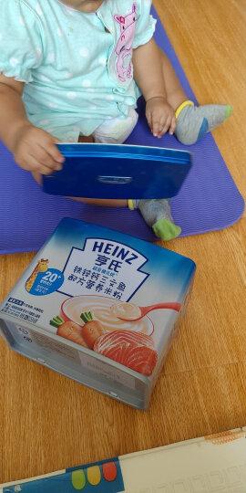 亨氏 (Heinz) 超金健儿优 宝宝辅食婴儿米粉米糊铁锌钙三文鱼配方营养米粉 补钙(6-36个月适用)225g 晒单图