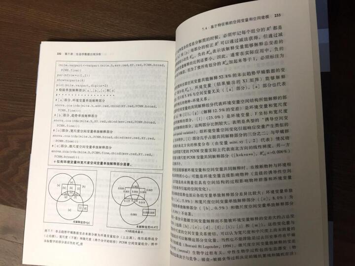 环境与生态统计:R语言的应用 晒单图